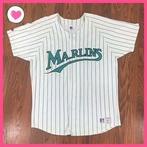 Vintage Florida Marlins MLB Jersey Russell L